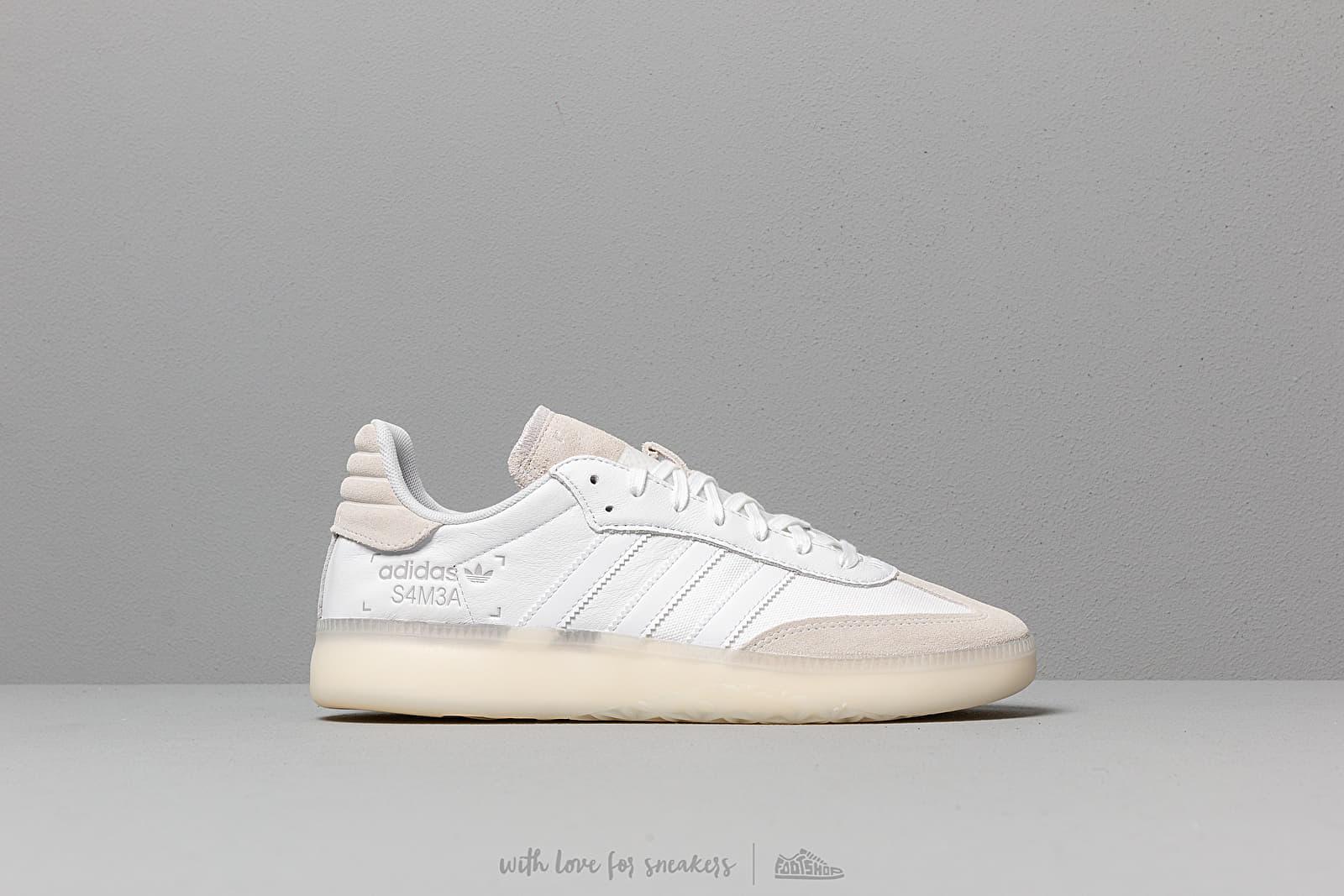 adidas Samba Rm Ftw White/ Ftw White/ Grey Two | Footshop