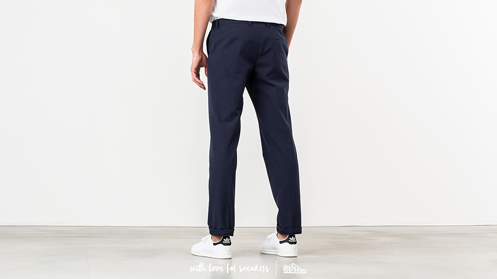 a07bb4032de5 MAISON KITSUNÉ Small Check Classic Fit Pants Navy Check at a great price   288 buy at