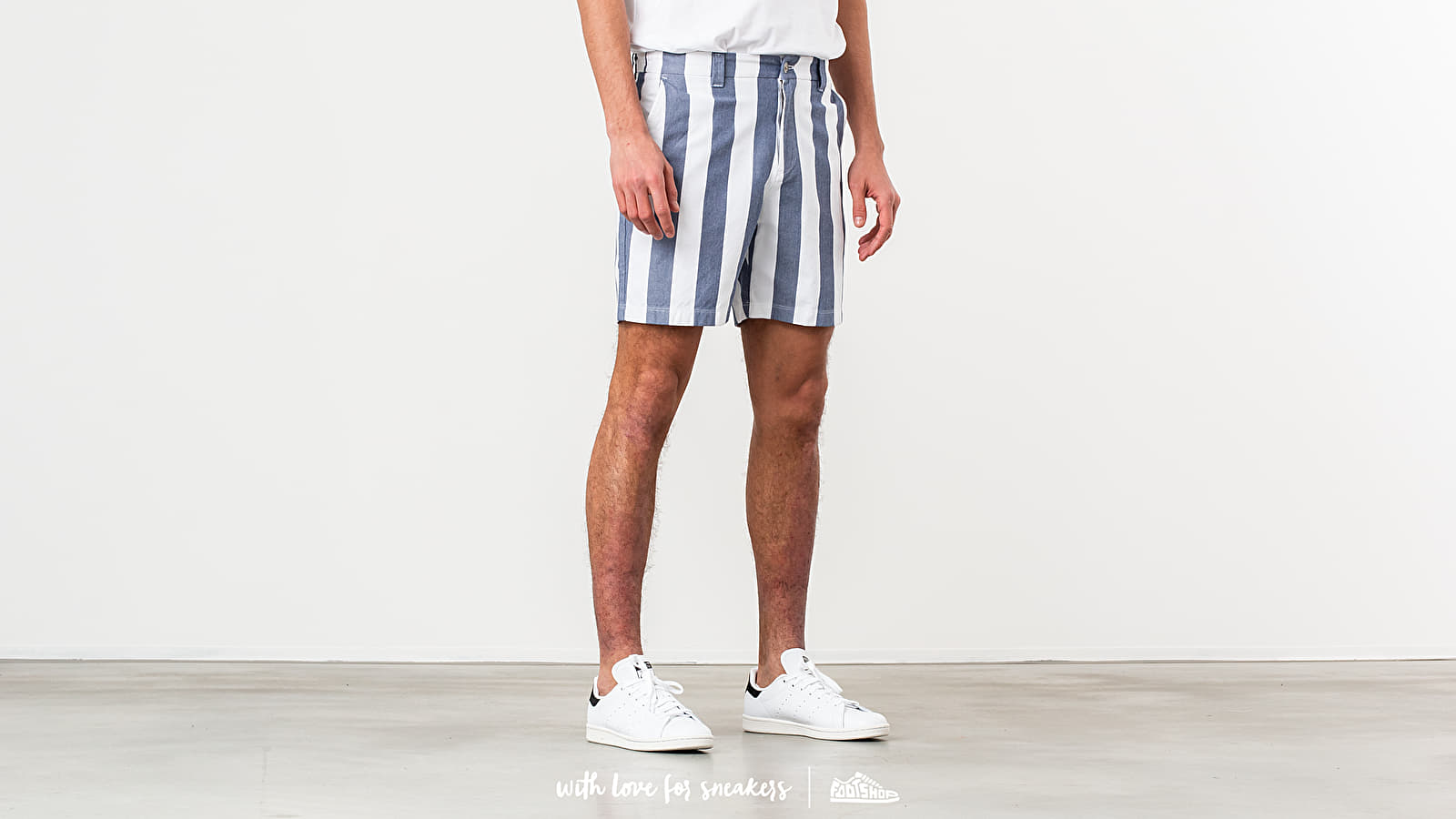 Aimé Leon Dore Striped Oxford Shorts