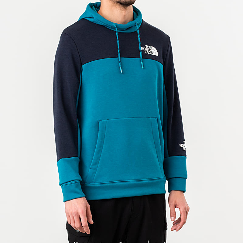 The North Face Lht Hoody Crystal Teal, Blue
