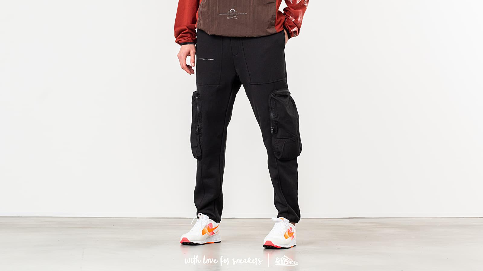 Jogger Pants Oakley by Samuel Ross Fleece Cargo Pants Charcoal