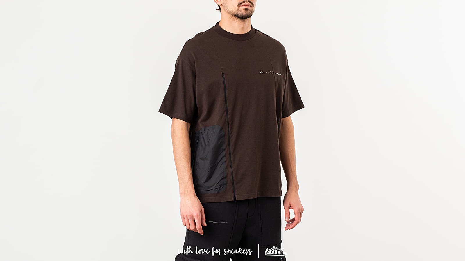 Oakley by Samuel Ross Zip Paneled Tee