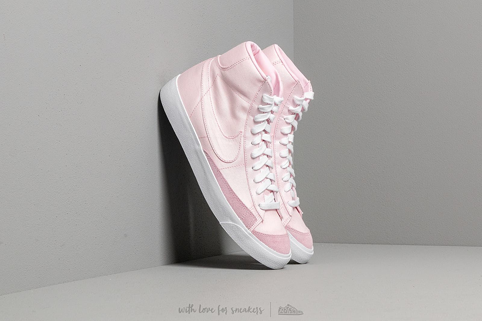 Nike Blazer MID '77 Vintage WE Pink Foam/ Pink Foam-Pink Foam-White za skvělou cenu 2 590 Kč koupíte na Footshop.cz