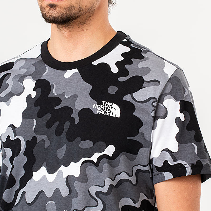 The North Face Simple Dome Tee Camo, Gray
