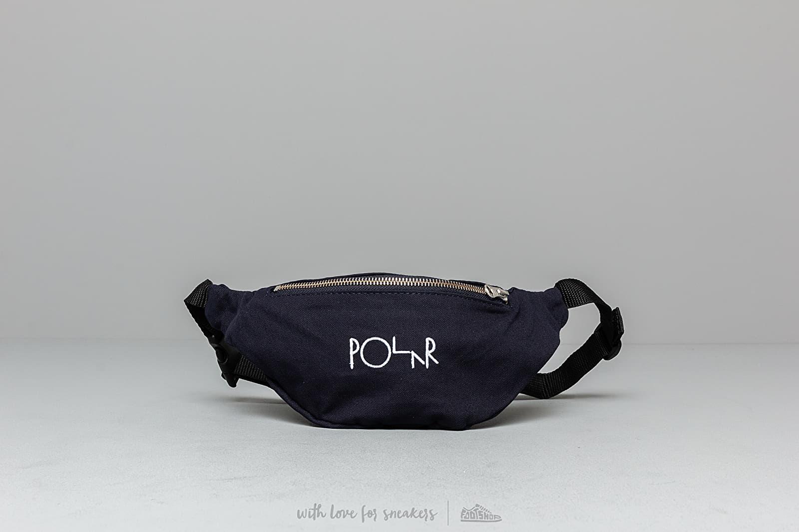 Polar Skate Co. Script Logo Hip Bag Navy
