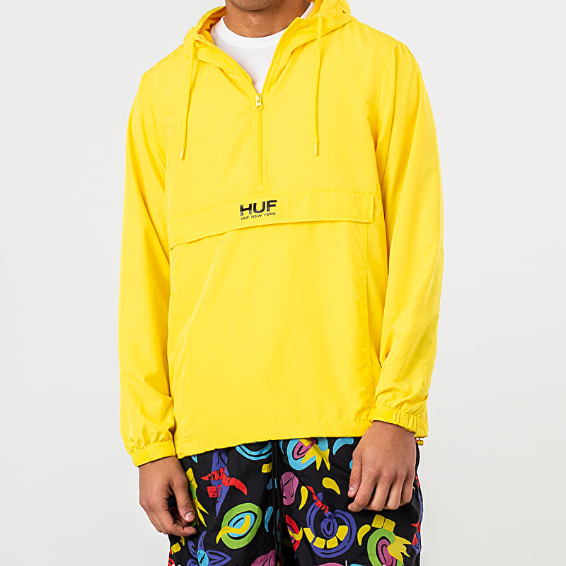 HUF Liberty Anorak Jacket Aurora Yellow