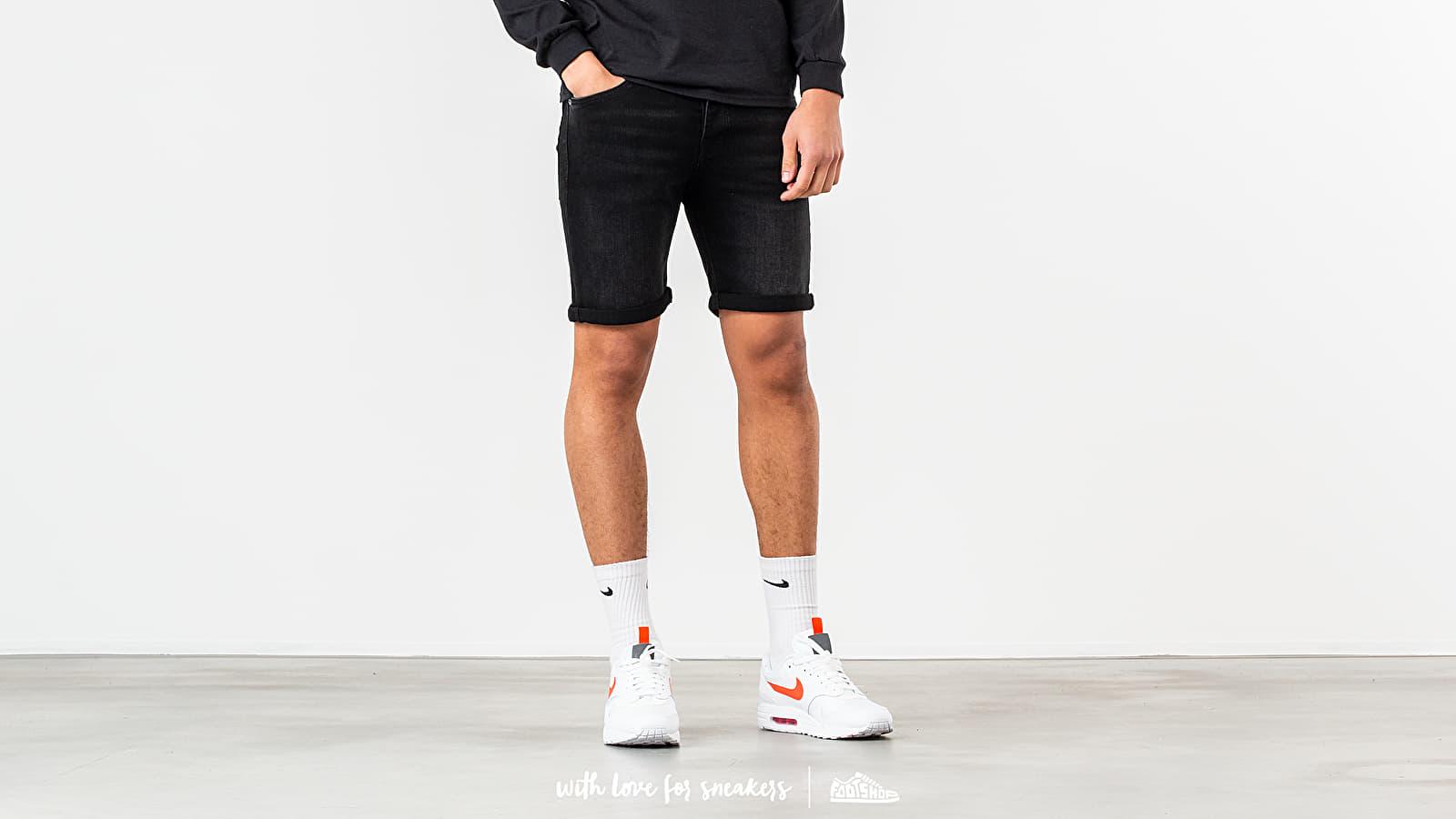 Pantalones cortos SELECTED Alex Denim Shorts Black