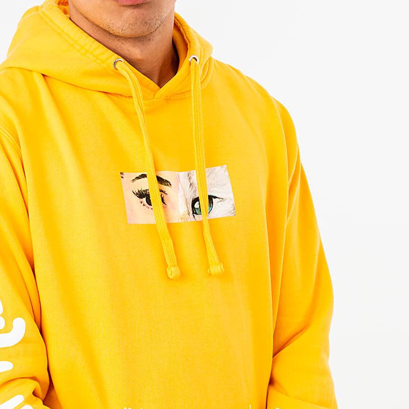 RIPNDIP Mask Hoodie Gold, Yellow