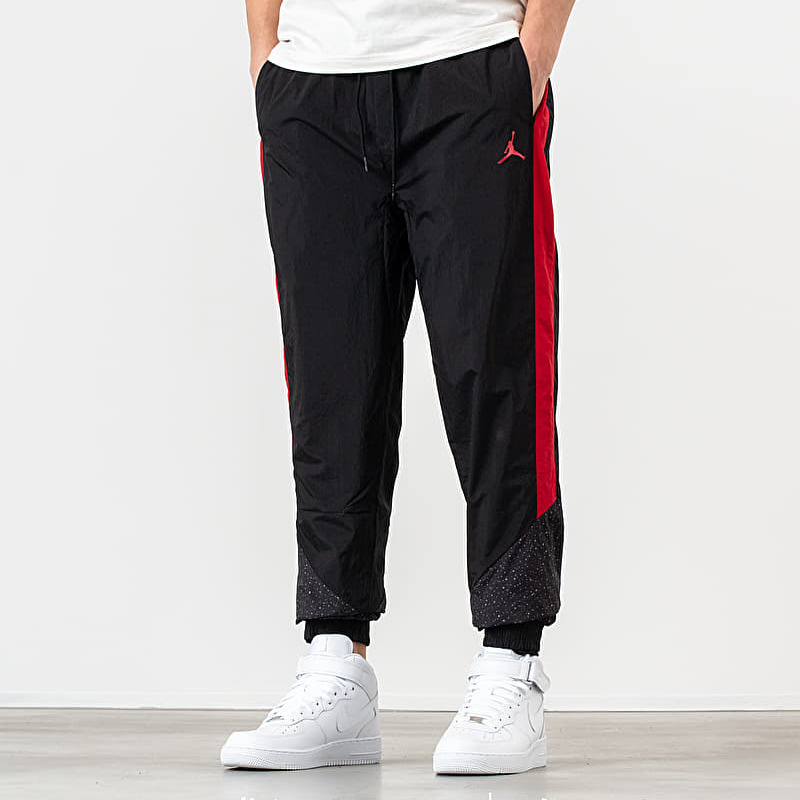 Jordan Diamond Cement Pants Black/ Gym Red XL