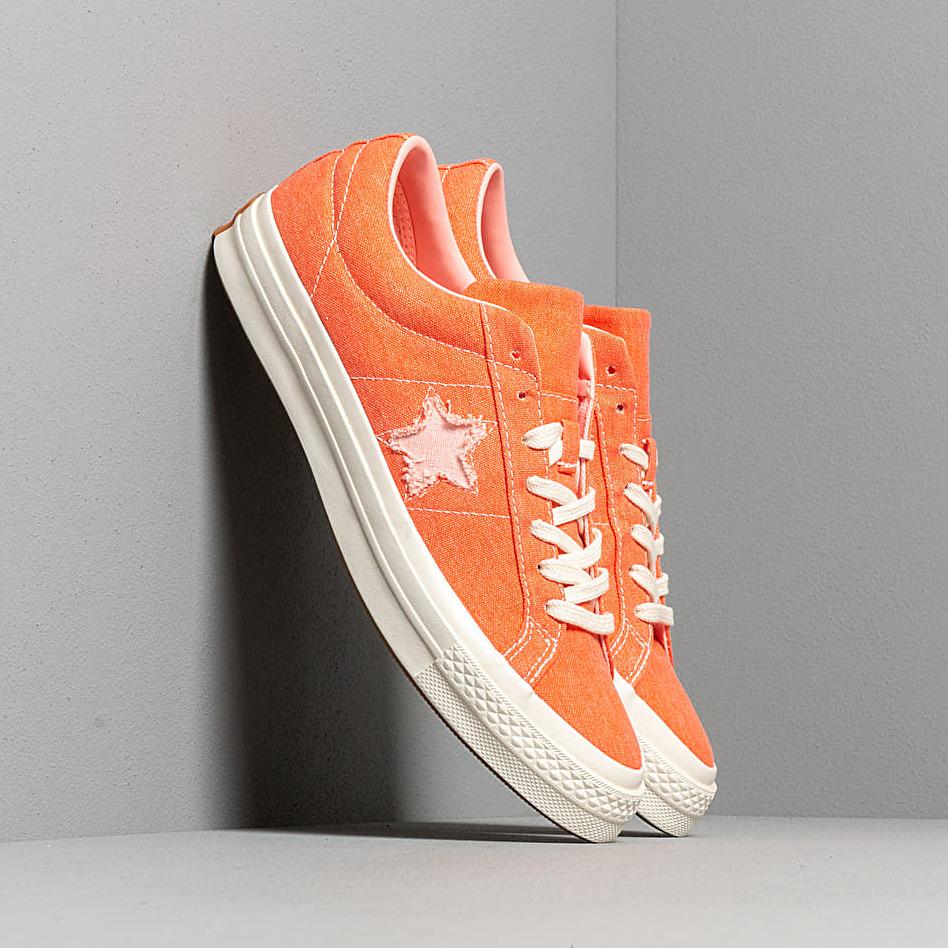 Converse One Star OX True Orange/ Bleached Coral