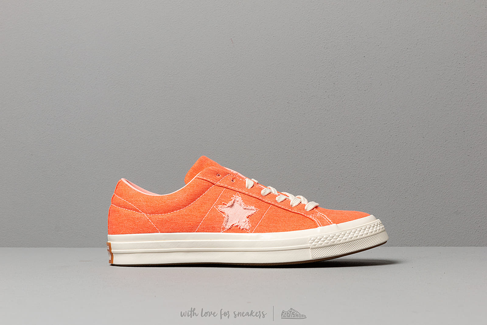 8d224756d4ab Converse One Star OX True Orange  Bleached Coral at a great price 81 € buy