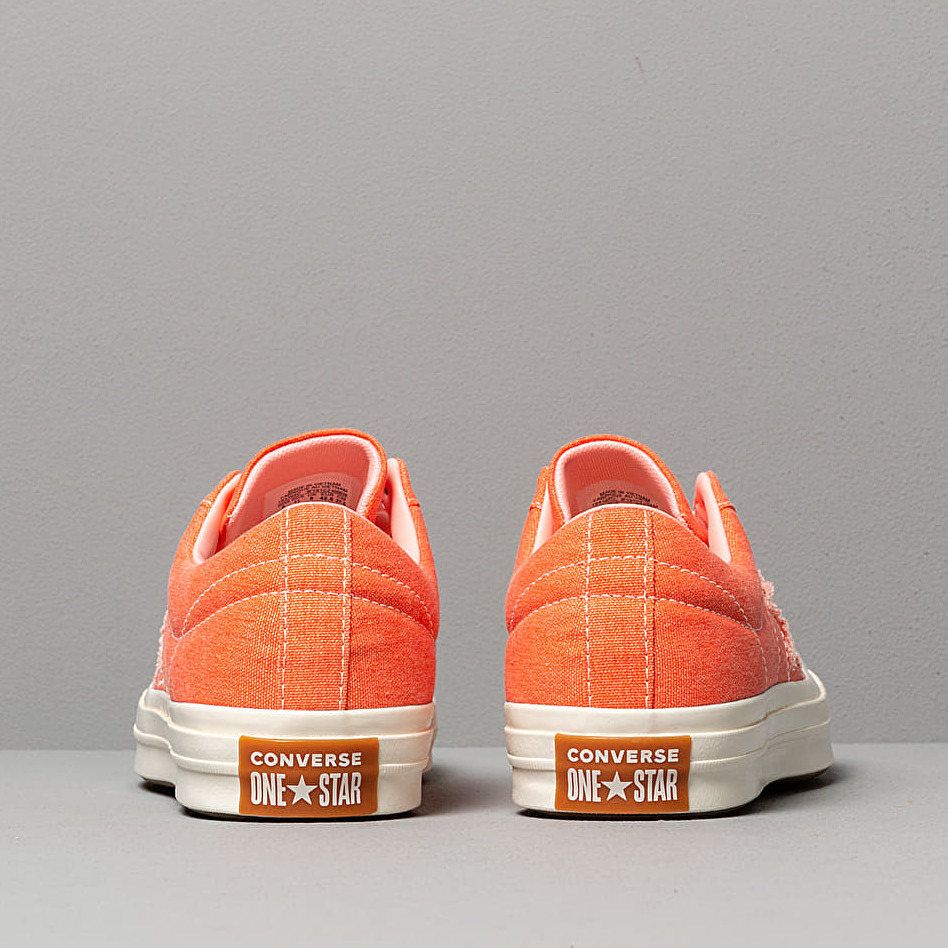 Converse One Star OX True Orange/ Bleached Coral