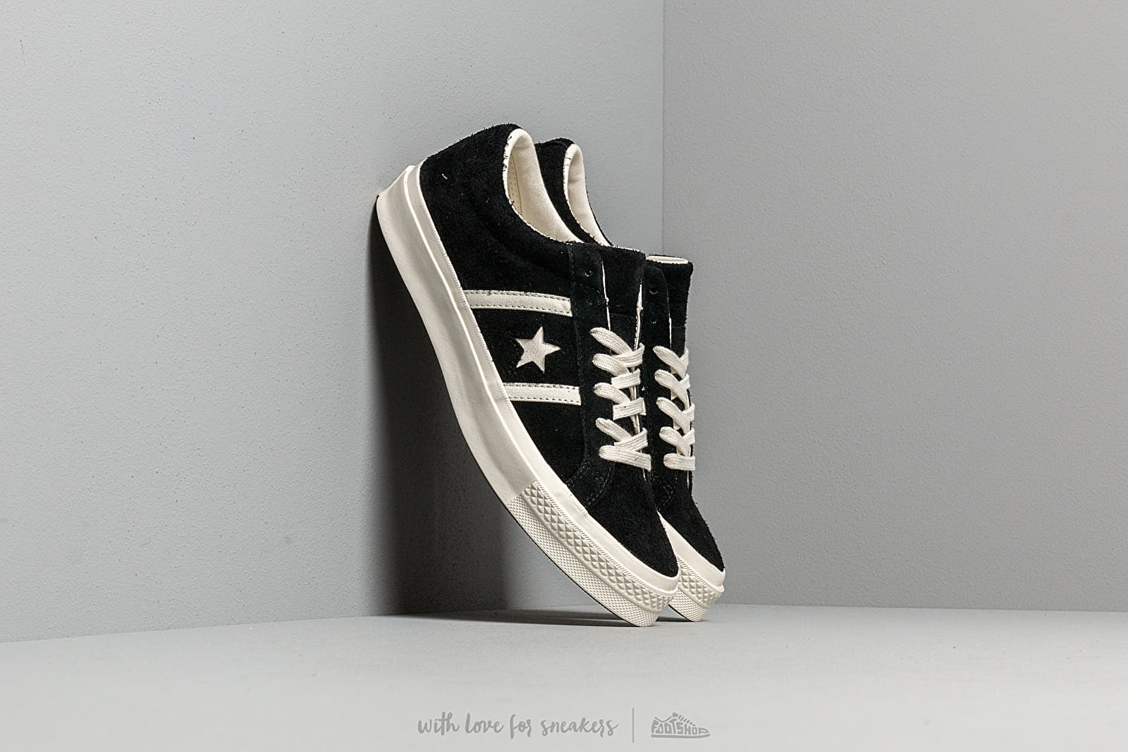 Converse One Star Academy OX Black Egret Egret | Footshop