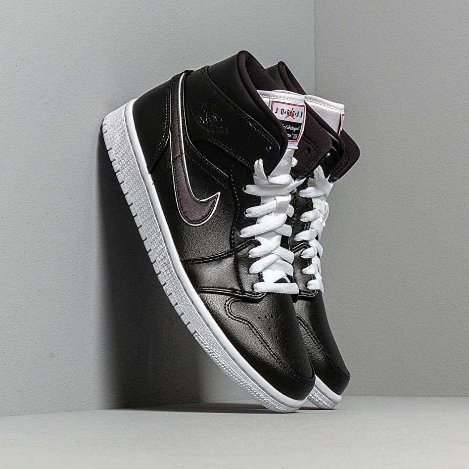 Air Jordan 1 Mid Se Black/ Black-White EUR 44.5