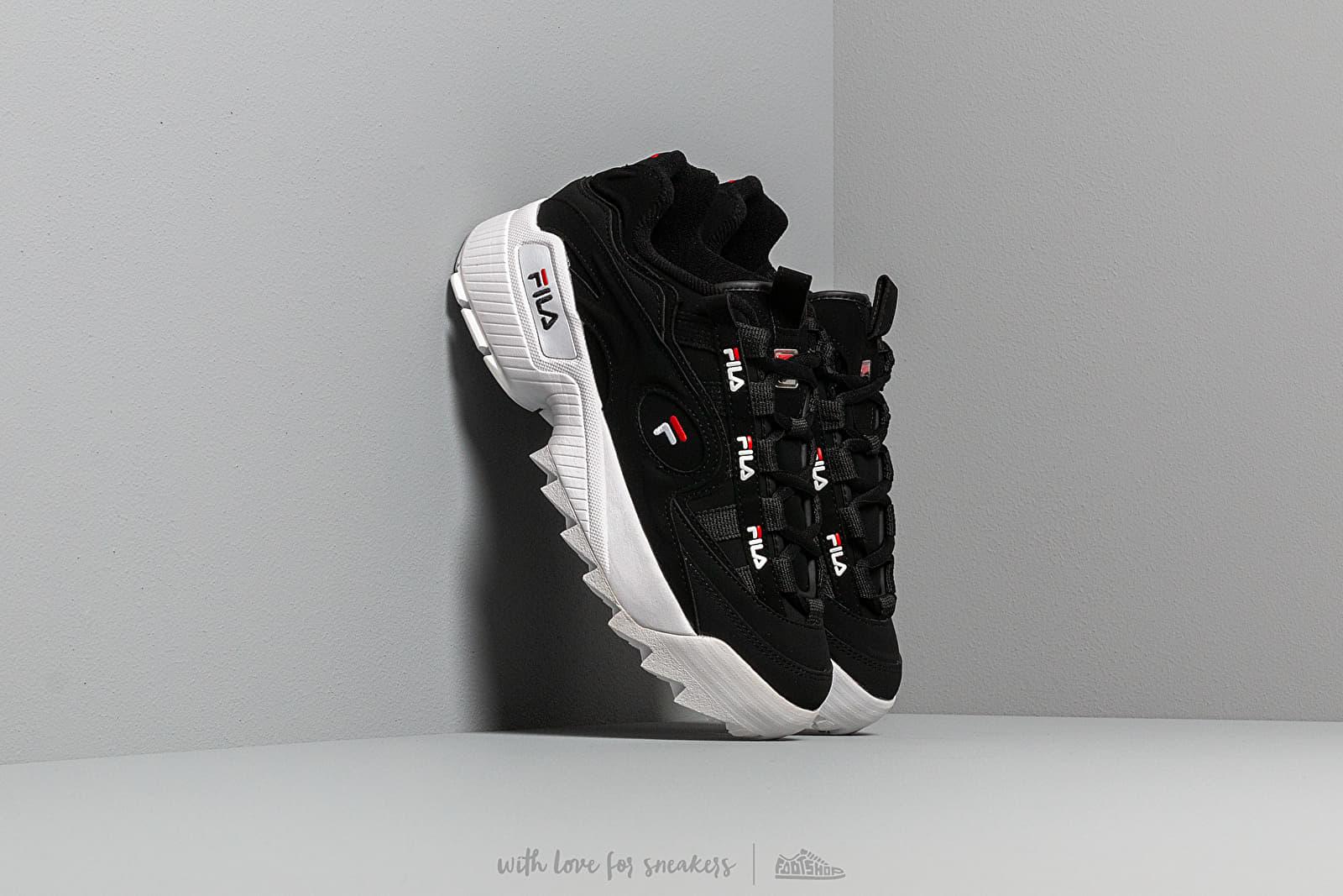 FILA D Formation W Black White Red | Footshop