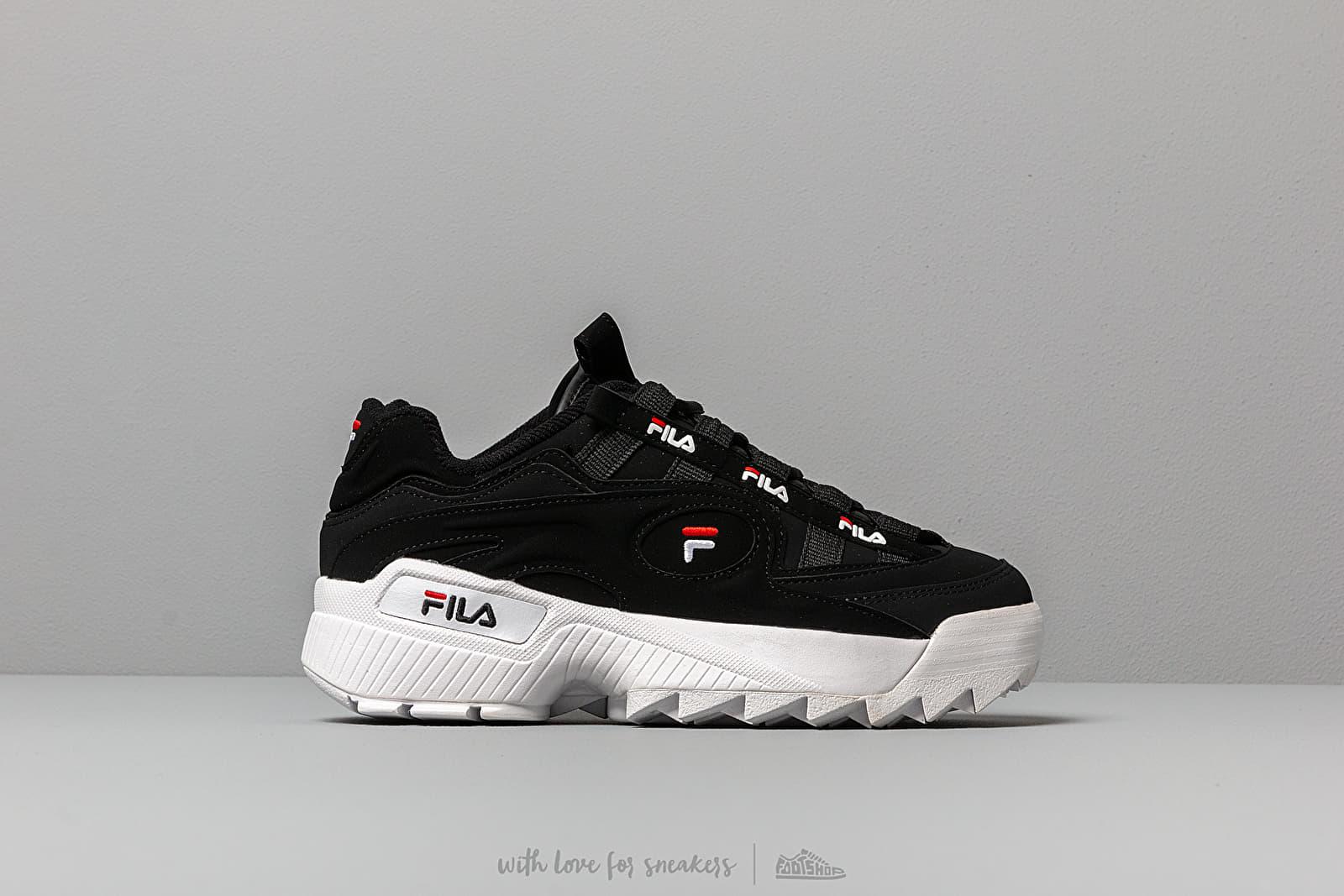 e4ea9da8ef7 FILA D-Formation W Black  White  Red at a great price £99