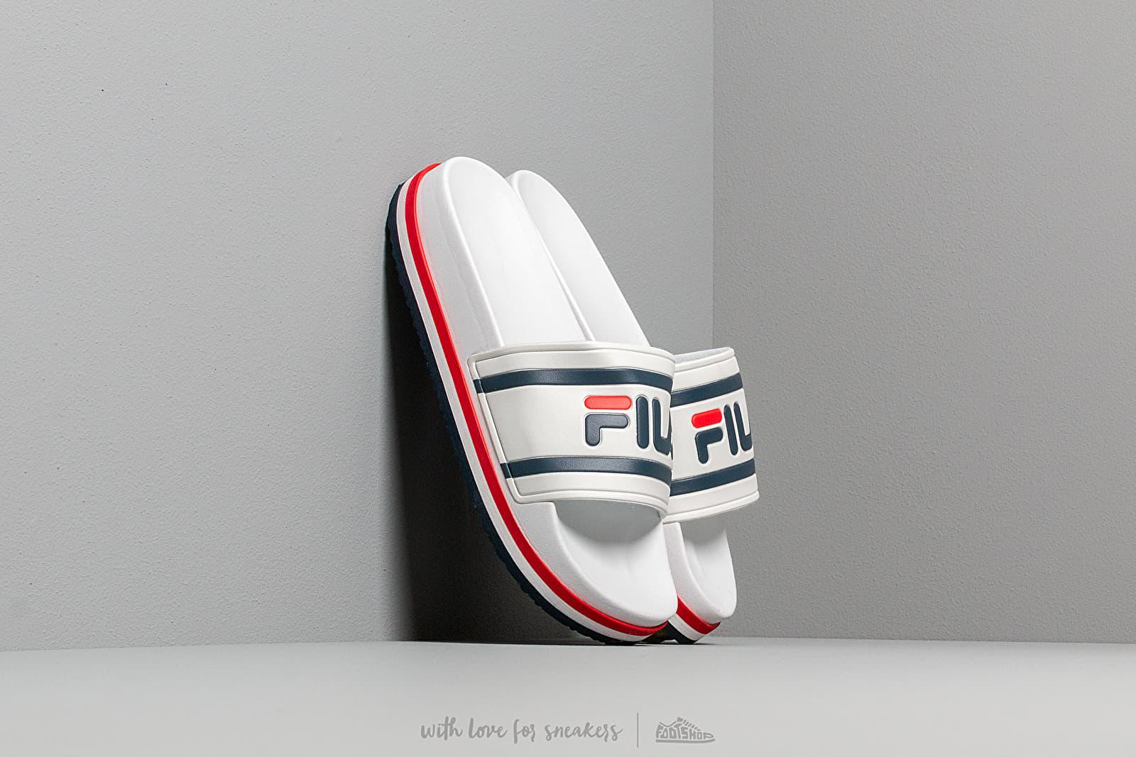 Women's shoes FILA Morro Bay Zeppa Wmn White/ Stripe