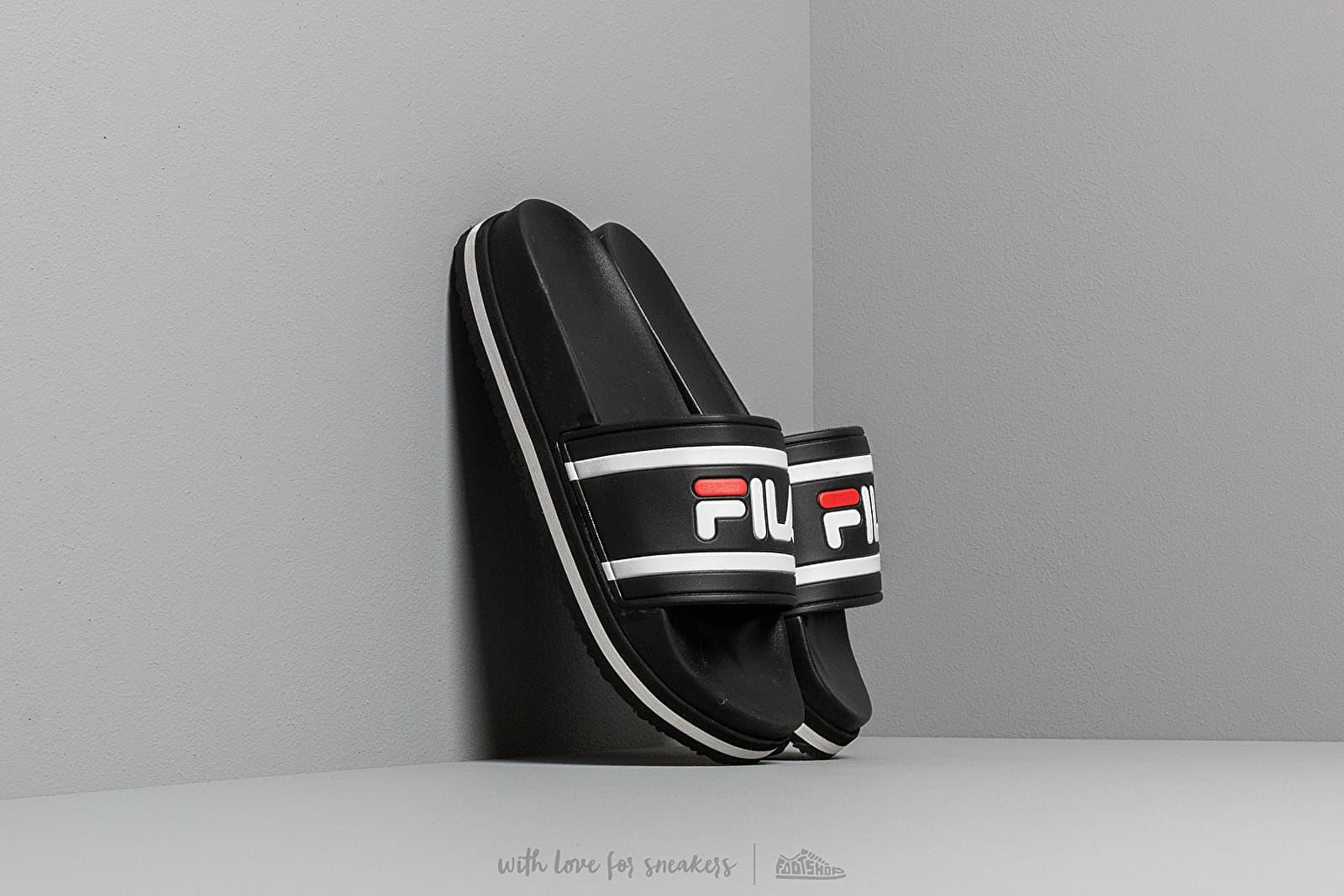 Dámske topánky a tenisky FILA Morro Bay Zeppa Wmn Black/ Stripe