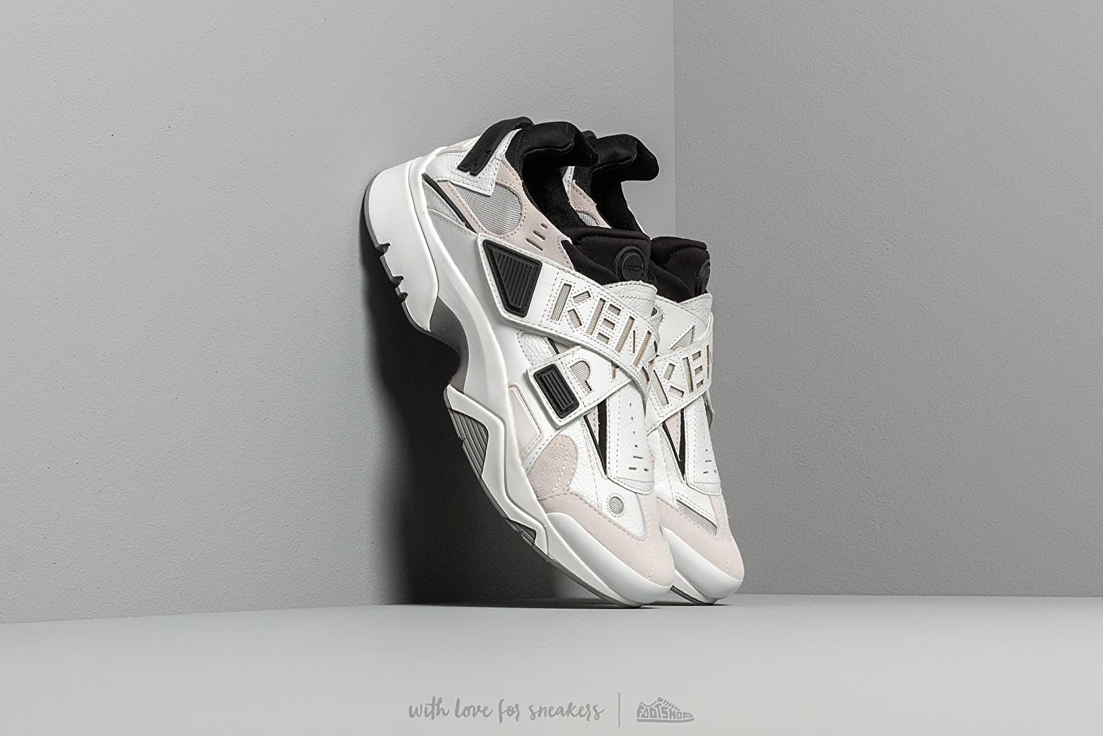 Men's shoes KENZO New Sonic Sneakers White/ Grey/ Black