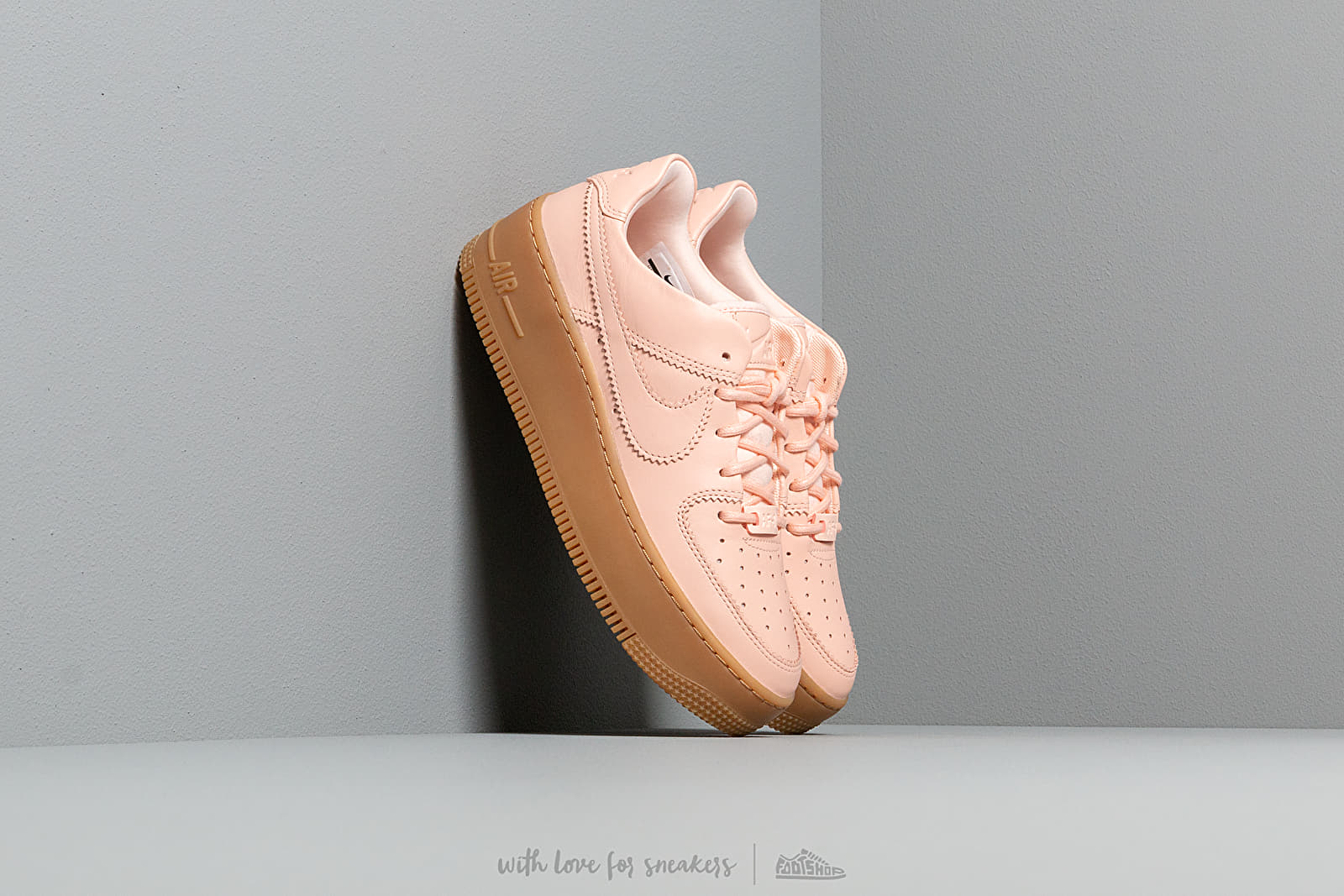 Nike W Air Force 1 Sage Low Lx Washed Coral Washed Coral