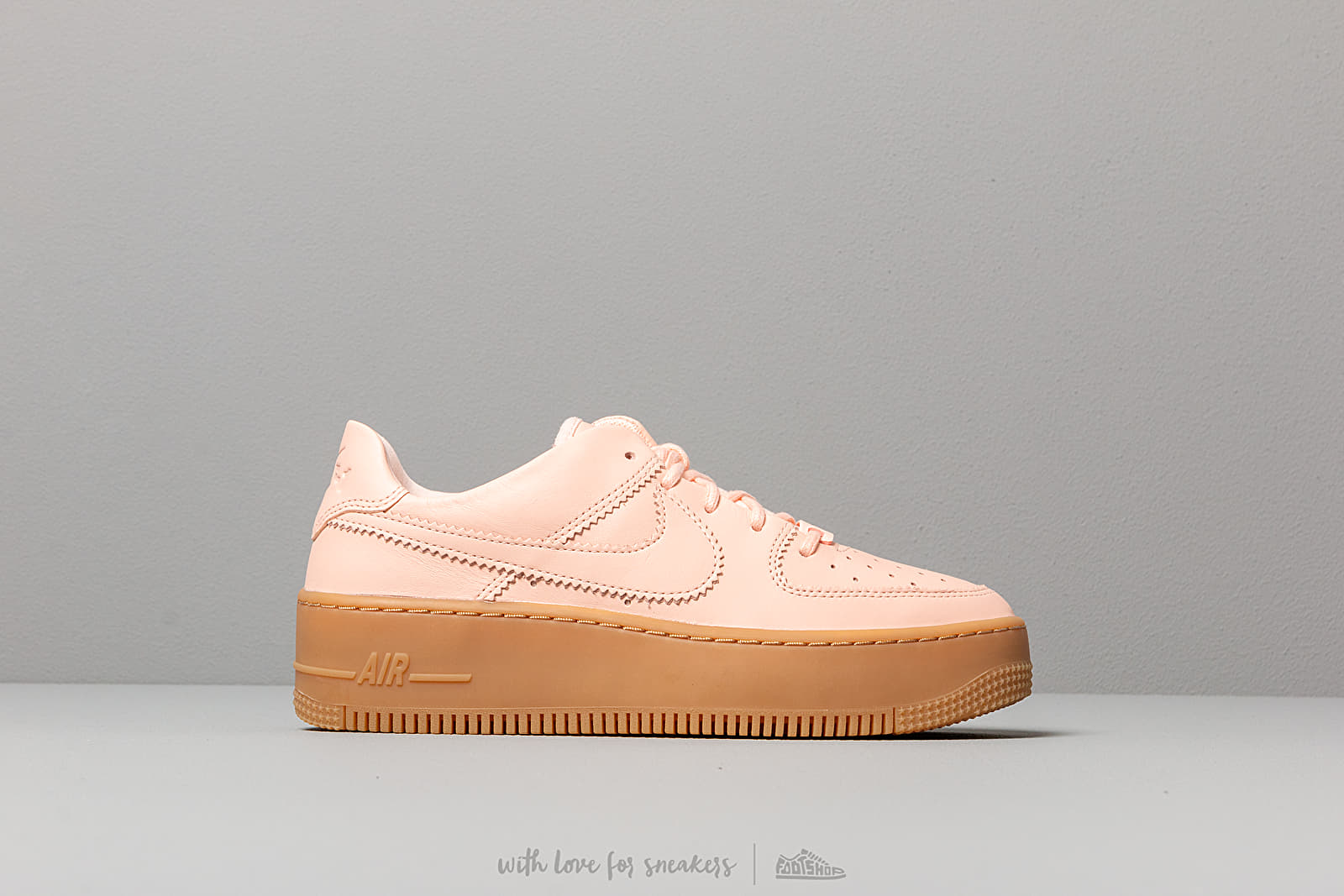 huge selection of fa0d2 ede6d Nike W Air Force 1 Sage Low Lx Washed Coral  Washed Coral at a great