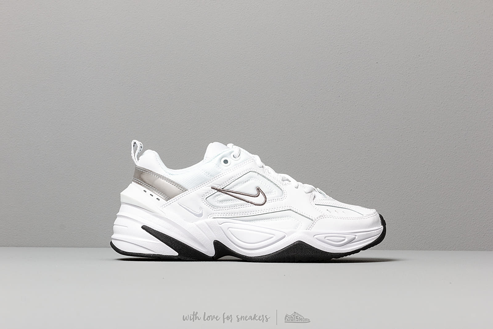 Nike W M2K Tekno White White Cool Grey Black | Footshop