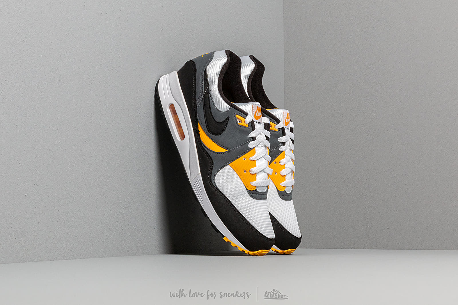 Nike Air Max Light White Black Dark Grey University Gold