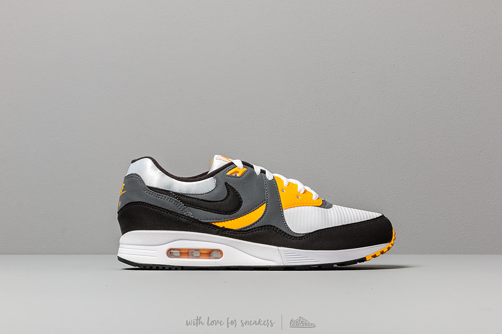 timeless design 5a74e 4f374 Nike Air Max Light White  Black-Dark Grey-University Gold at a great