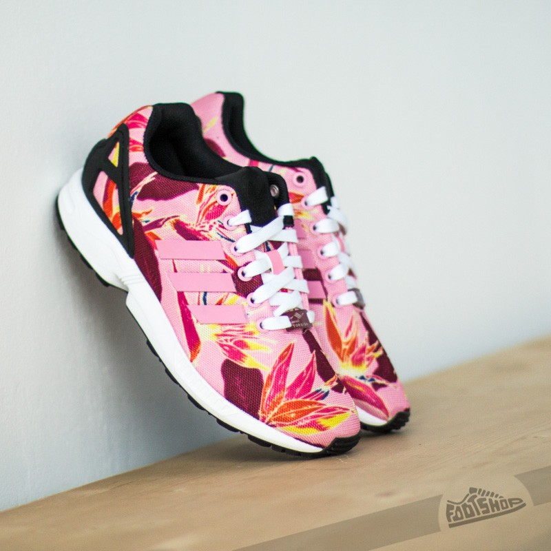 pretty nice d81ba f480d adidas ZX Flux Light Pink/ Core Black | Footshop