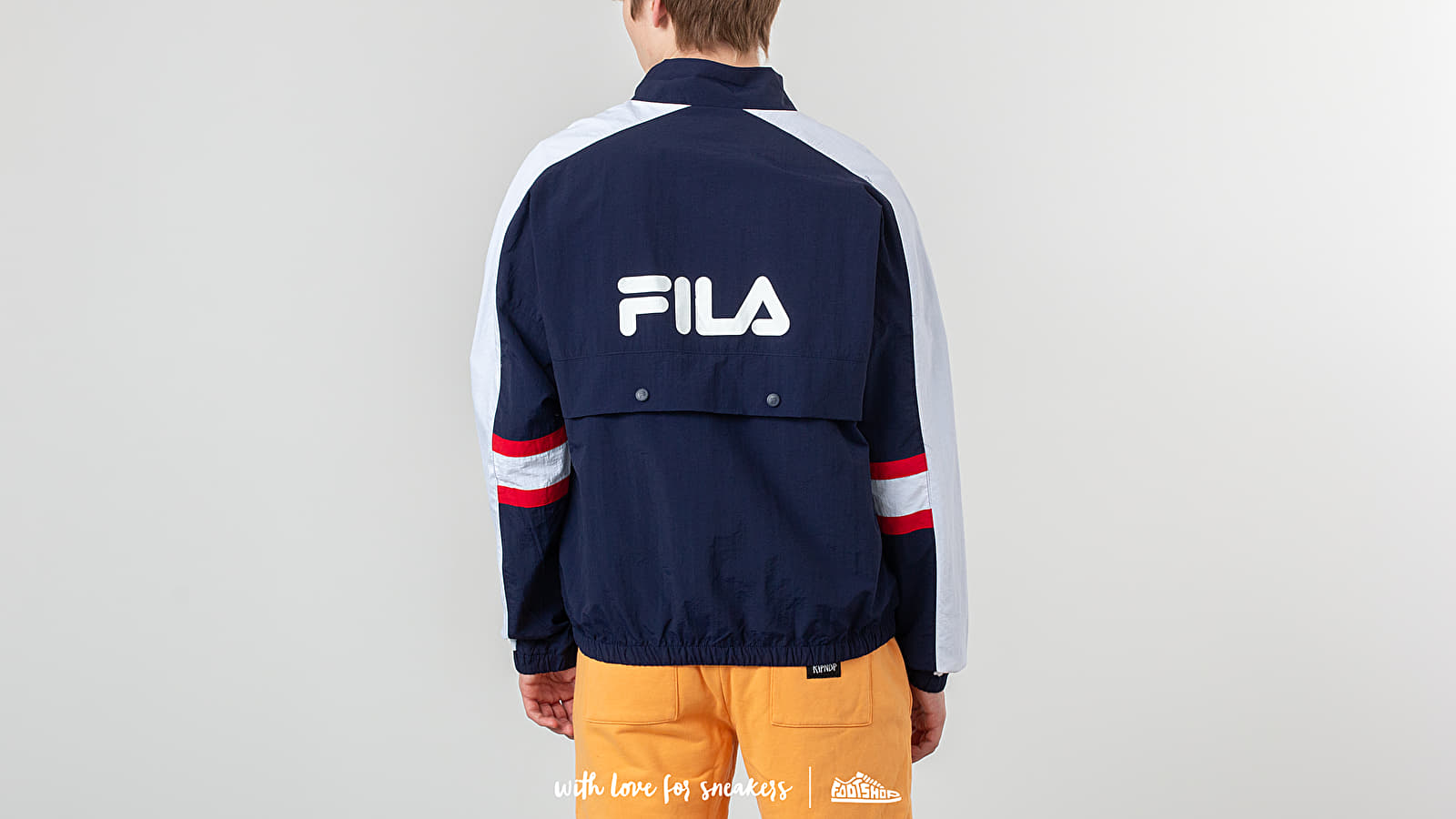 386f5196d2074 FILA Carter Colour Block Track Jacket Peacoat at a great price 95 € buy at  Footshop