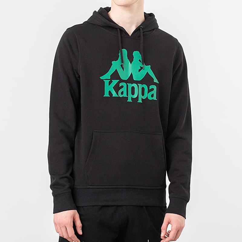 Kappa Authentic Zimim Hoodie Black/ Green