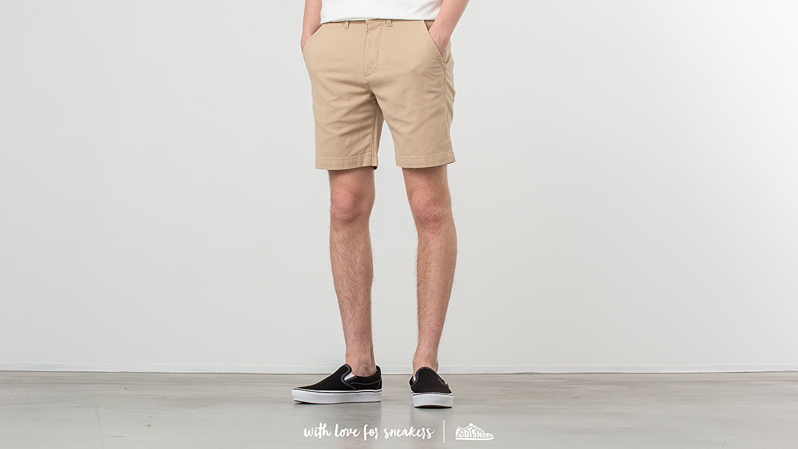 SELECTED Chris Straight Camp Shorts