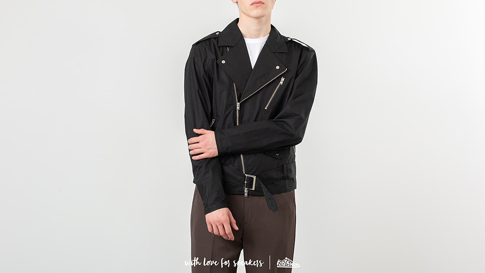 STAMPD Repellant Biker Jacket