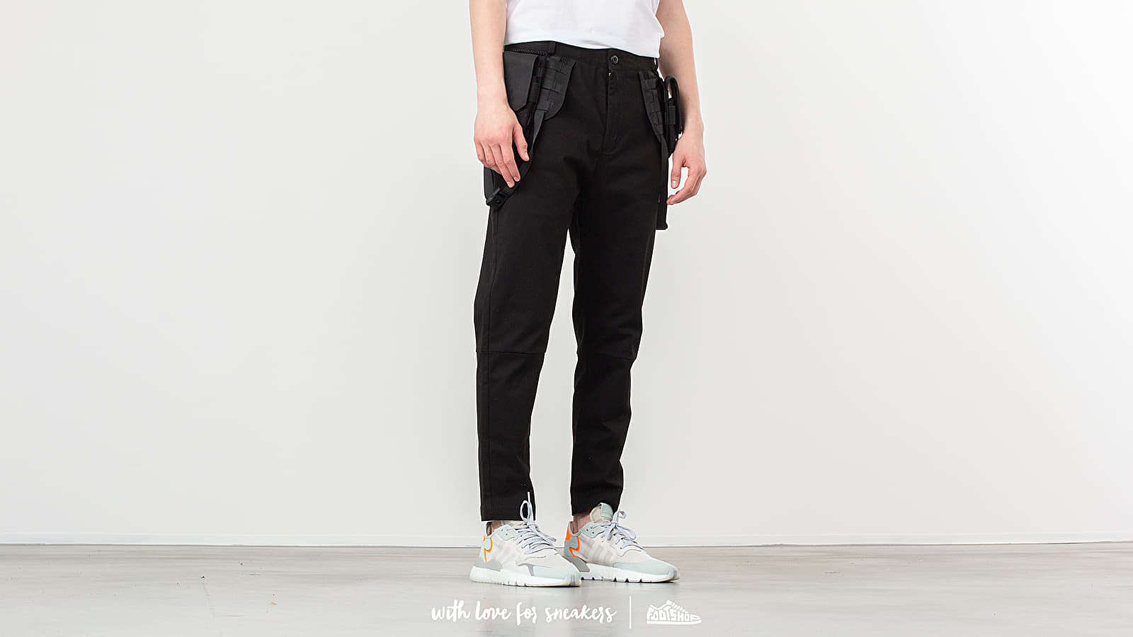 Παντελόνια και τζιν STAMPD Utility Pants Black