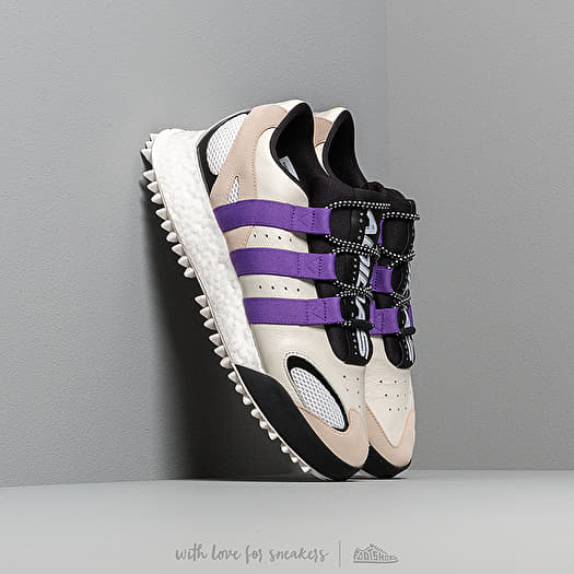 Aliado Frontera Cuidar  Men's shoes adidas x Alexander Wang Wangbody Run Core White/ Sharp Purple/  Clear Brown