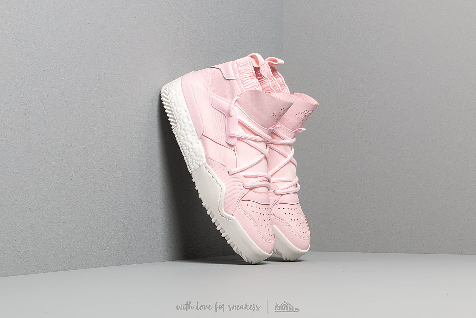Men's shoes adidas x Alexander Wang Bball Clear Pink/ Clear Pink/ Core White