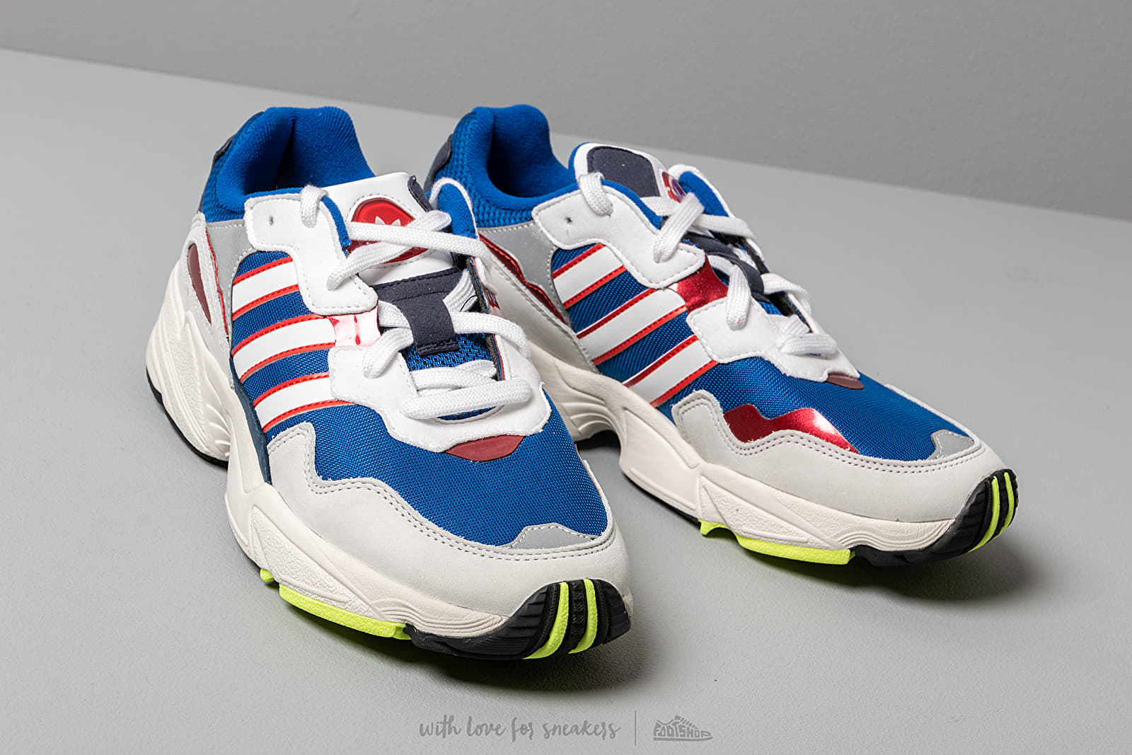 adidas Yung 96 Clear Royal Ftw White Collegiate Navy