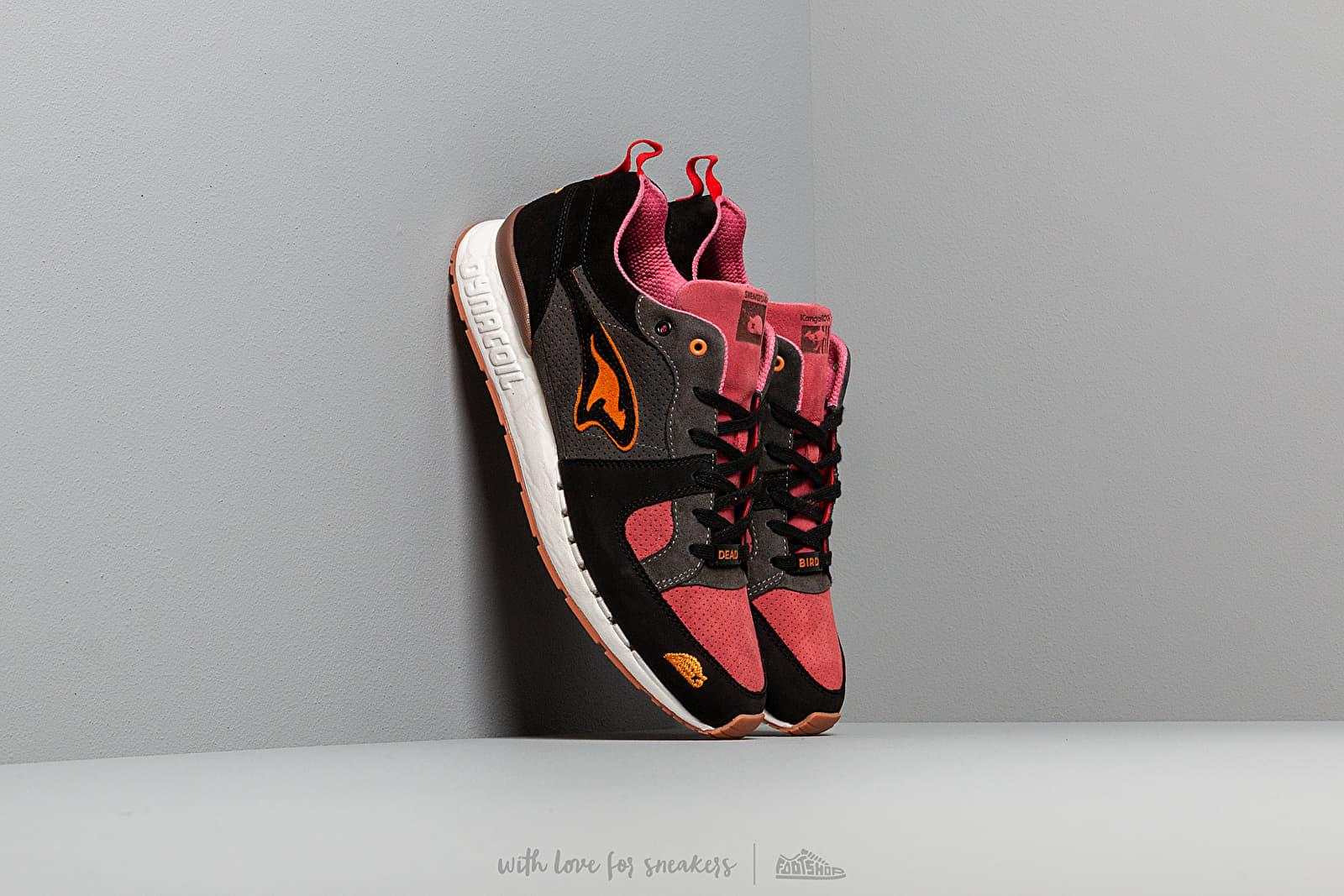 KangaROOS x Sneakerbaas Coil-R1 Deadly Black/ Bloody Pink at a great price 258 € bestell bei Footshop