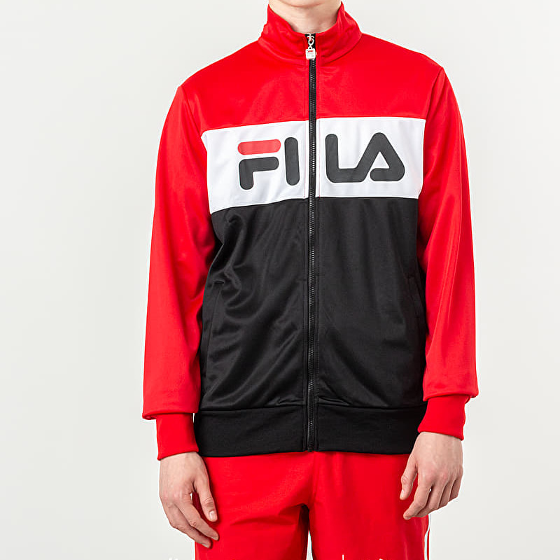 FILA Balin Track Jacket True Red/ Black/ Bright White