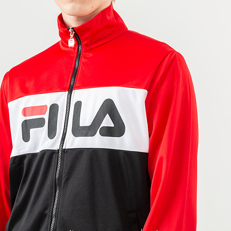 FILA Balin Track Jacket True Red/ Black/ Bright White