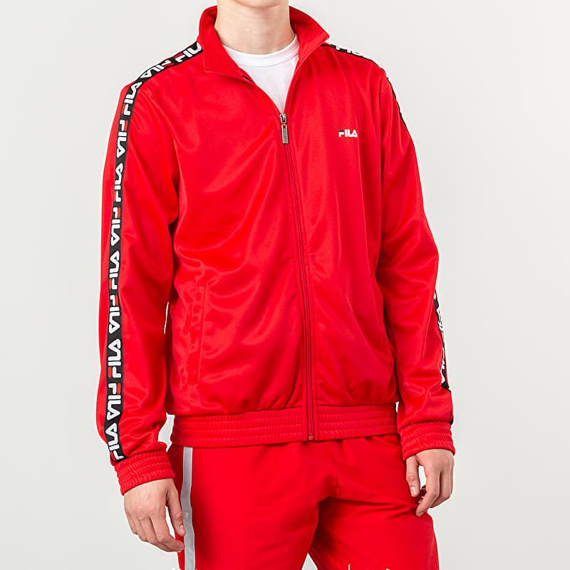 FILA Tape Track Jacket True Red