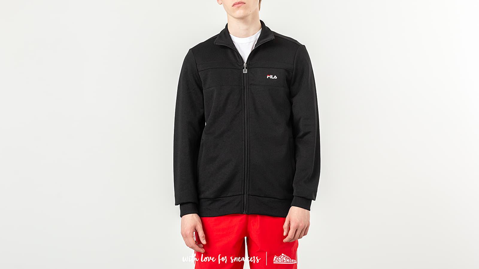 Hoodies and sweatshirts FILA Noel Track Jacket Black
