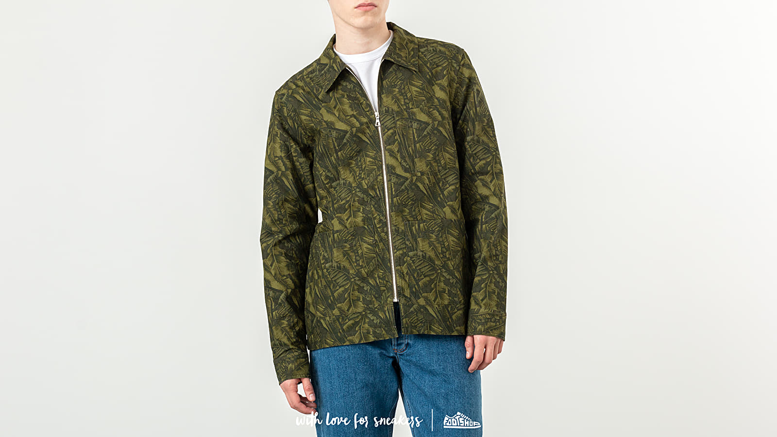 Geci A.P.C. Harry Jacket Military Khaki