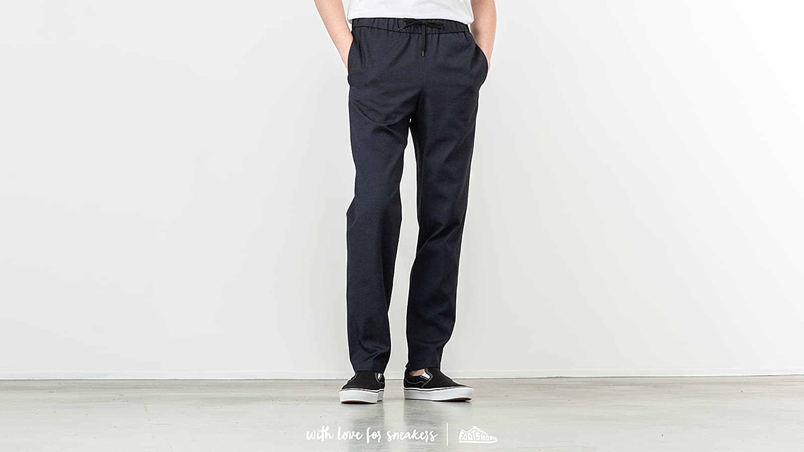 A.P.C. Kaplan Trousers Dark Navy at a great price 189 € buy at Footshop