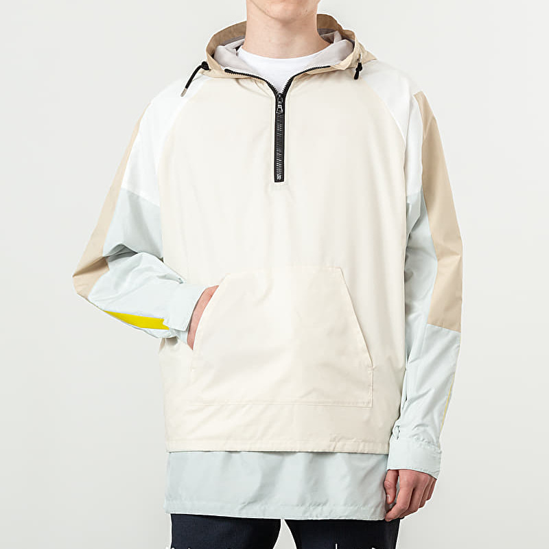 John Elliott Sail Jacket White/ Tan