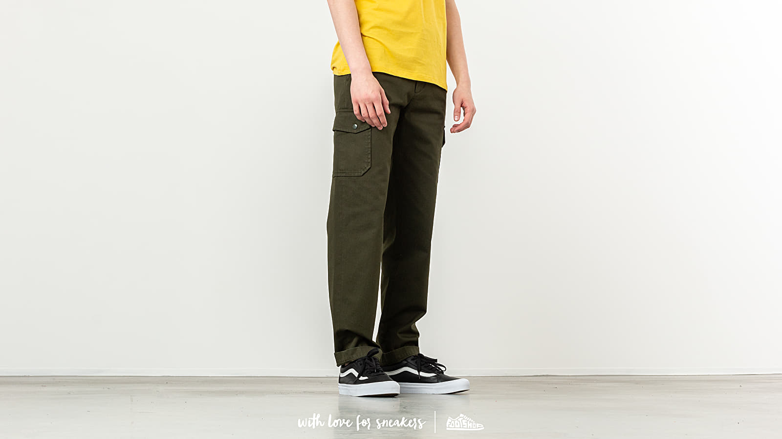 Pants and jeans A.P.C. Jones Trousers Military Khaki