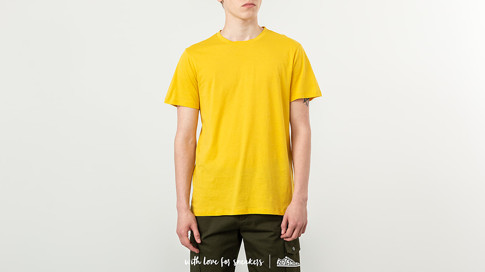 T-Shirts A.P.C. Arnold Tee Yellow