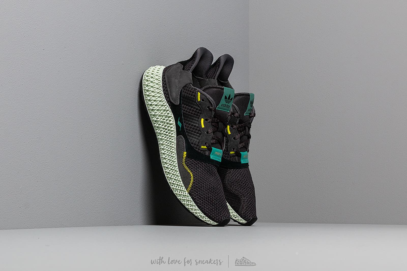 Men's shoes adidas ZX 4000 4D Carbon/ Carbon/ Sesoye