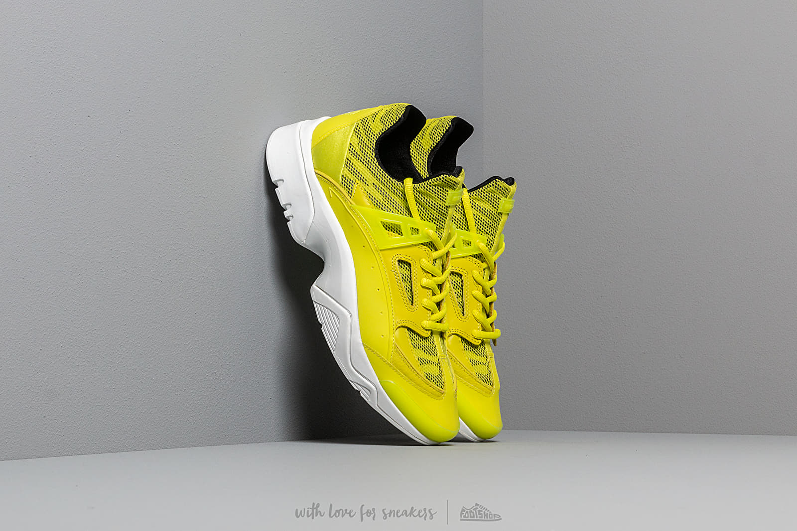 Men's shoes KENZO Sonic Sneakers Lemon