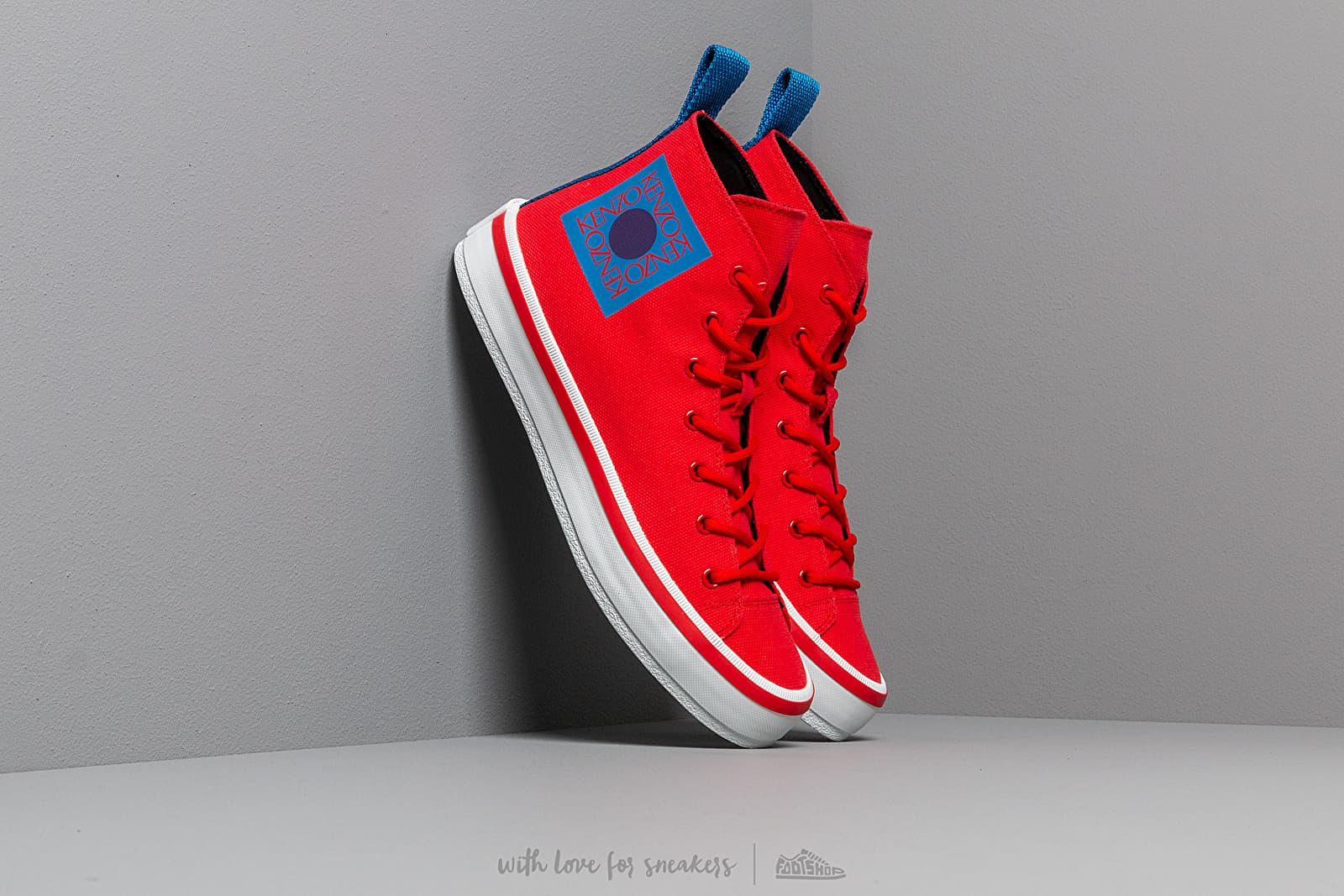 KENZO K- Street Sneakers Medium Red at a great price 183 € buy at Footshop